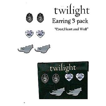 Twilight Jewellery Earrings 3 Pk