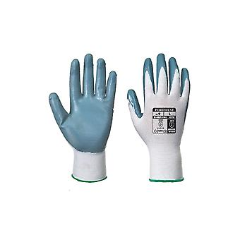 Portwest a310 flexo workwear safety grip nitrile gloves