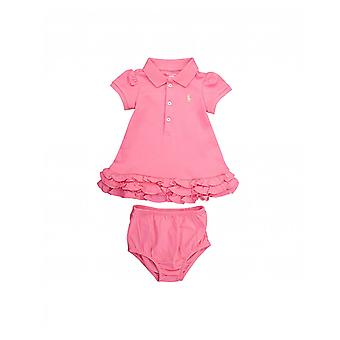 Polo Ralph Lauren Childrenswear Ruffle Trim Polo Dress