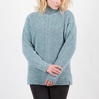 Passenger blue spruce knitted jumper