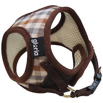 Gloria Pets Petral Checked M Neck (Dogs , Collars, Leads and Harnesses , Harnesses)