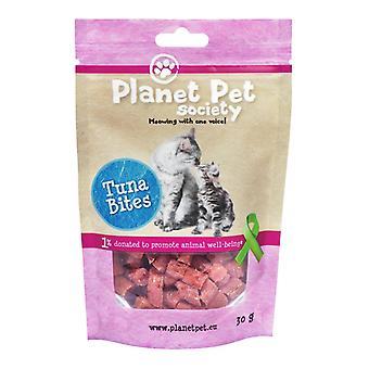 Planet Pet Snack Gato Bites Atun (Cats , Treats , Chewy & Softer Treats )