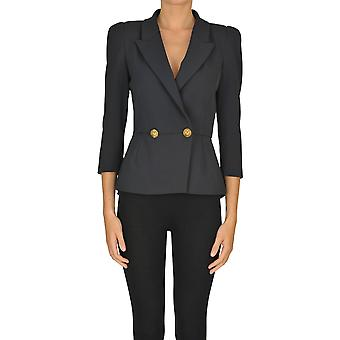 Elisabetta Franchi Ezgl026155 Women's Black Polyester Blazer