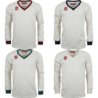 Gray-Nicolls Mens Velocity V-Neck Cricket Sweater/Jumper