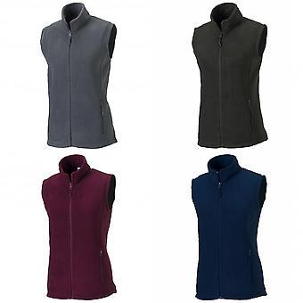 Russell Europe Womens/Ladies Outdoor Full-Zip Anti-Pill Fleece Gilet Jacket