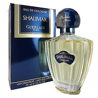 Shalimar for women by guerlain 2.5 oz 75 ml eau de cologne spray