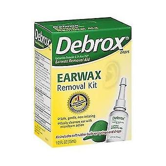 Debrox earwax removal aid kit, 0.5 oz