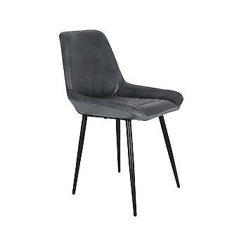 Light & Living Dining Chair 46x54x85cm Labo Antik Grey