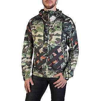 Blauer Original Men Fall/Winter Jacket - Green Color 35707