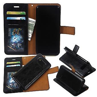 Samsung Galaxy S8 - 2 i1 Etui na portfel / Powłoka - Czarny