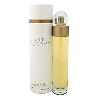Perry Ellis Perry Ellis Ellis 360 für Frauen Eau de Toilette Spray 100ml Eau de Toilette Spray