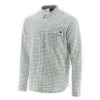 Caterpillar Miesten Tattersall Button Down Paita Chive