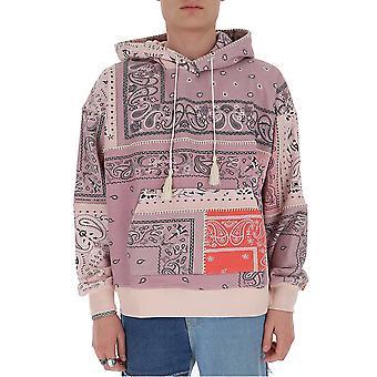 Amiri Y0m02369tecoarl Men's Pink Cotton Sweatshirt