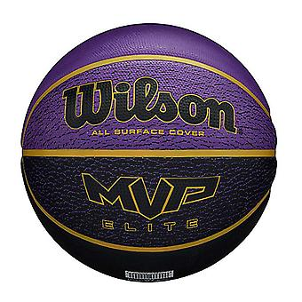 Wilson MVP Elite All Surface Cover Basketball Ball Purple/Black