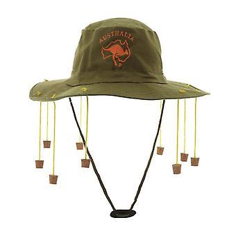 Australische hoed met kurken