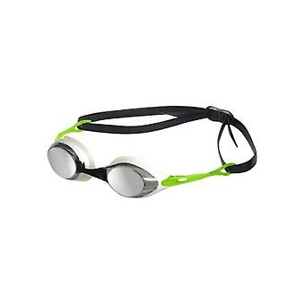 Arena Cobra Mirror Swim Goggle - Mirrored Lens - Smoke/Silver/Green