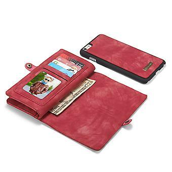 CaseMe Vintage Wallet Case Hoesje iPhone 6S / 6 - Bruin