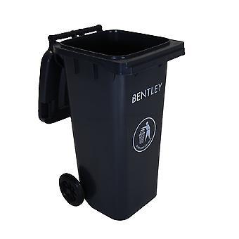Charles Bentley buiten huishoudelijke afval middellange 120 liter Wheelie vuilnisbak