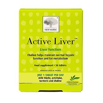 New Nordic Active Liver Tablets 30 (NLF063)