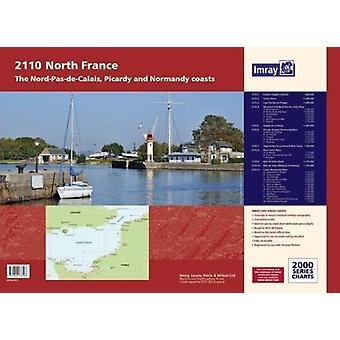 Imray Chart Atlas 2110 - North France - Nord-Pas-de-Calais - Picardy a
