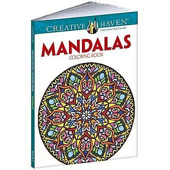Creative Haven Mandalas Collection Coloring Book by Alberta Hutchinso