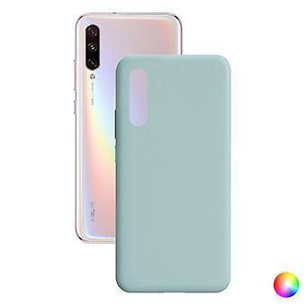 Mobiele cover Xiaomi Mi A3 Contact Silk TPU/Zwart