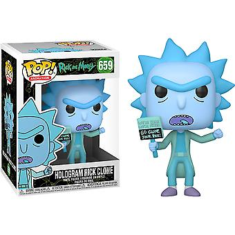 Rick en Morty Hologram Rick (Clone) Pop! Vinyl