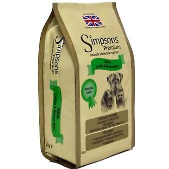 Simpsons Complete Lamb & Brown Rice Adult Dry Dog Food