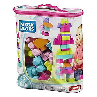 Building Blocks Mega Mattel (60 pcs) Pink