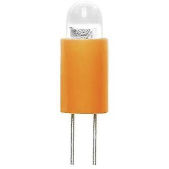 Barthelme Dioda LED Bi-pin 3.17 mm Żółty 6 V DC 70117122