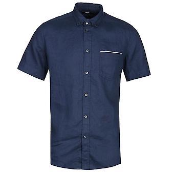 Diesel R-Emiko Nueva Camicia Camisa de Manga Corta Camicia