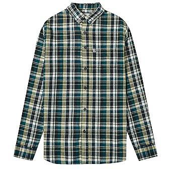 Penfield Barrhead Button-Down Blue Checked Shirt
