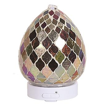 Aroma Mosaik LED Ultraschall elektrische Öl Diffusor Aromatherapie