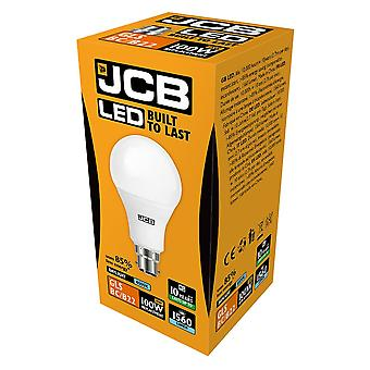 JCB LED A60 1560lm Opal 15w Light Bulb B22 6500k