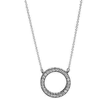 Pandora Hearts of PANDORA Pendant Necklace - 590514CZ-45