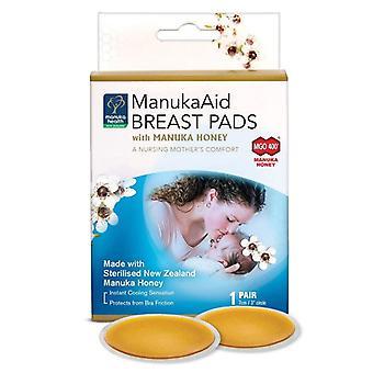 Manuka Health MGO 400+ ManukaAid Breast Pads with Manuka Honey (Pack of 2) (MAN045)