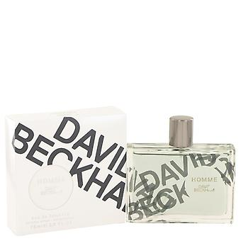 David Beckham Homme David Beckham Eau De Toilette Spray 2.5 oz/75 ml (miehet)