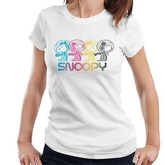 Erdnüsse Snoopy Space Emotionen Frauen's T-Shirt