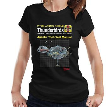 Thunderbirds Ombud Teknisk Manual Thunderbird 5 Kvinnor & apos; s T-shirt