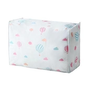 Foldable Storage Bags Organizer - For Clothes Quilt Blanket Pillow Luggage Breathable Closet Organizer