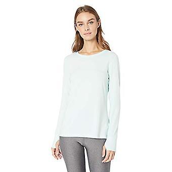 Essentials Women's Studio Long-Sleeve Lightweight T-shirt, -blåt lys, X-Small