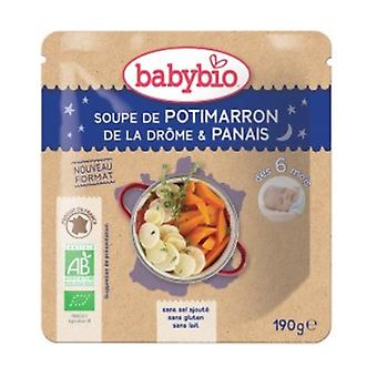 Doypack Soup Potimarron Organic Parsnip (from 6 months) 190 g