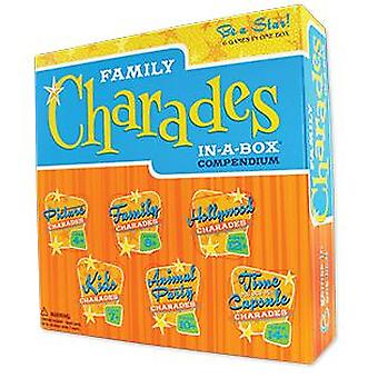 Familie charades in-a-box compendium