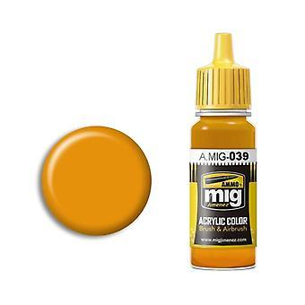 मिग एक्रेलिक पेंट द्वारा बारूद - ए.एमआईजी-0039 लाइट जंग (17 मिलीलीटर)