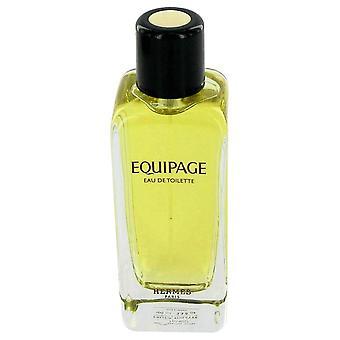Equipage Eau De Toilette Spray (Tester) By Hermes 3.4 oz Eau De Toilette Spray