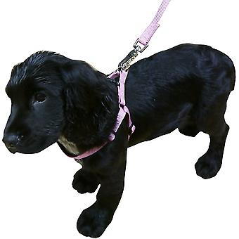 Rosewood Classic Soft Protection Harness - Pink - X-Small