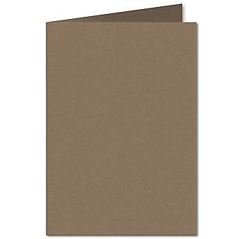 Fleck Manilla. 297mm x 420mm. A4 (Long Edge). 280gsm Folded Card Blank.