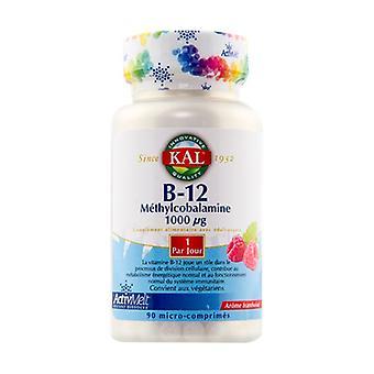 Vitamiini B12 90 tablettia (1000g)
