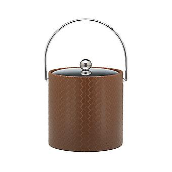San Remo Pinecone 3 Qt Ice Bucket W/ Bale Handle & Metal Cover