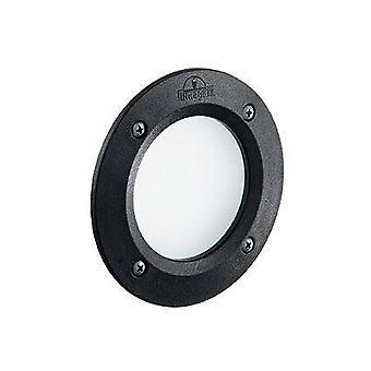 Ideal Lux Leti - LED 1 Licht Outdoor Einbaulicht Schwarz IP66